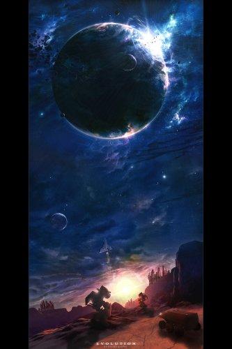 Космос... красота... художник под ником dilekt