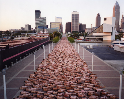 Фотограф Spencer Tunick (69 фото - 4.69Mb)